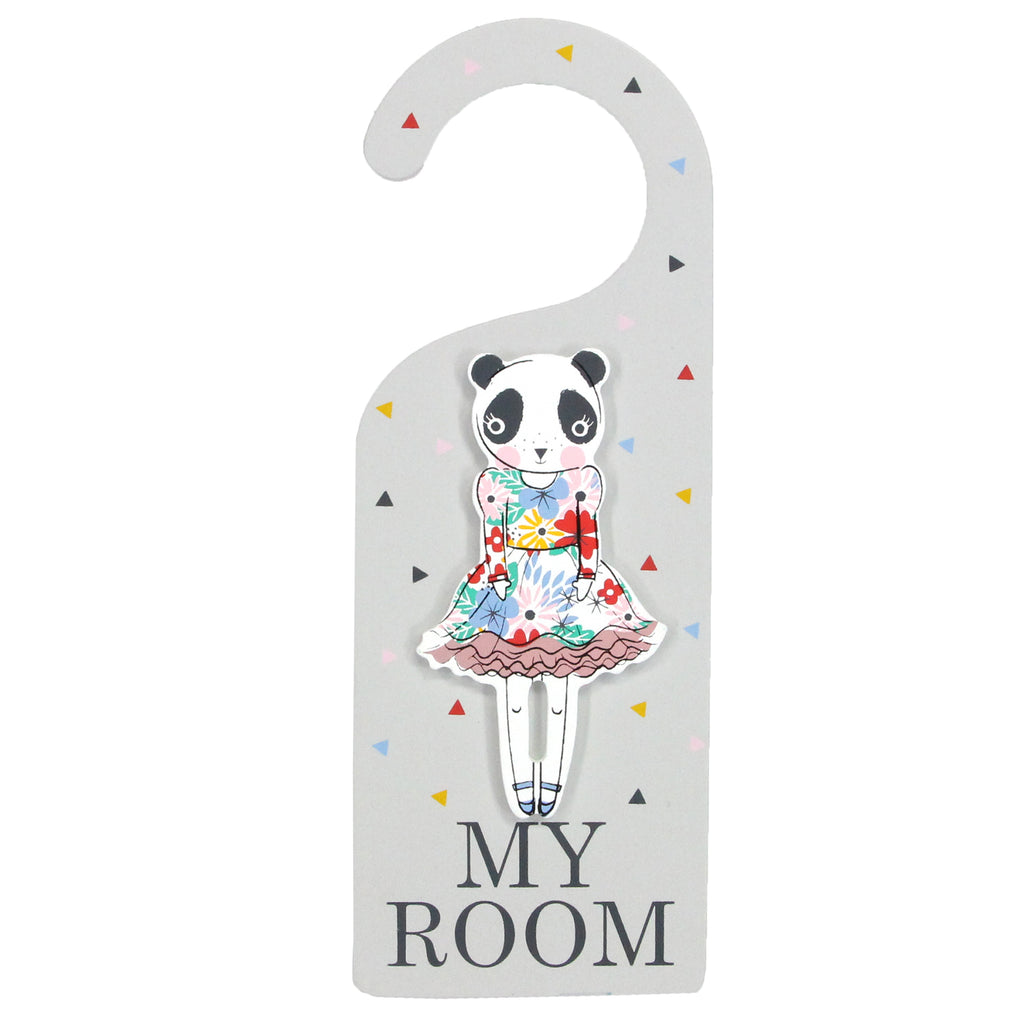 Vintage Panda Hanger From Gisela And Graham - stoneandcoshop