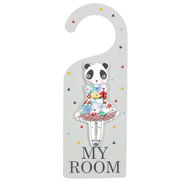 Vintage Panda Hanger From Gisela And Graham - stoneandco
