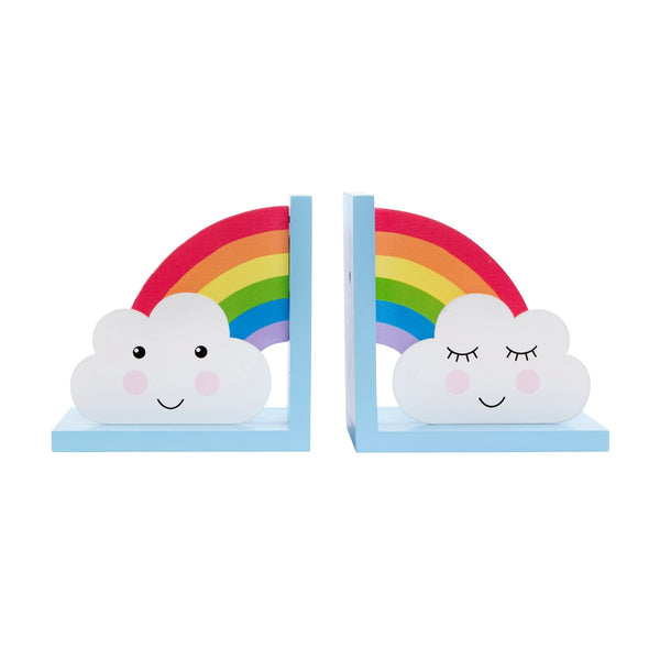 Rainbow Daydream Cloud Bookends - stoneandco
