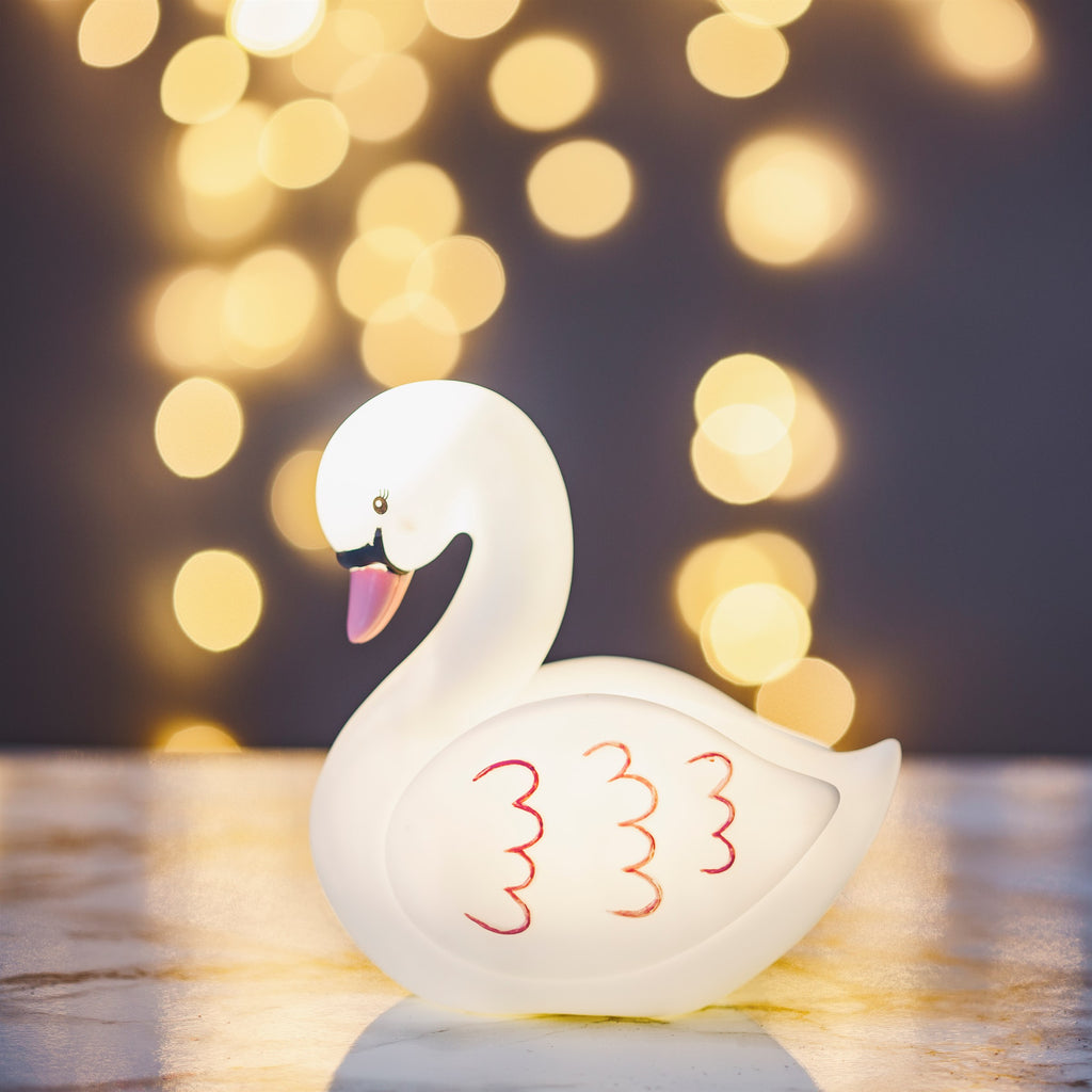 Swan Night Light - stoneandcoshop