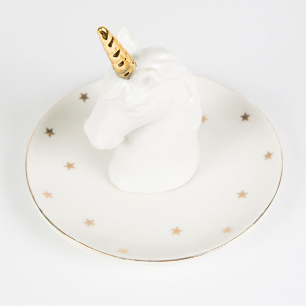 Unicorn Jewellery And Trinket Dish - stoneandcoshop