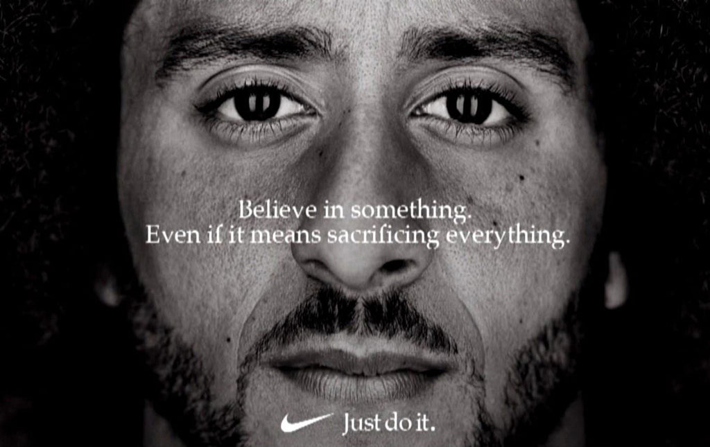 Believe in something. Even if it means sacrificing everything.