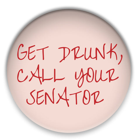 Call Your Senators Pin