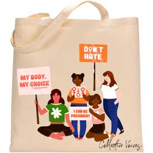 Collective Voices Tote Bag