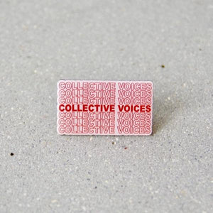 Collective Voices Enamel Pin