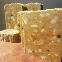 Rustic Exfoliant Soap Bars with French Green Clay