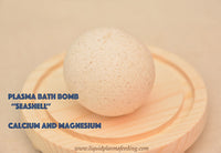 Plasma Bath Bomb ''SeaShell'' with Calcium and Magnesium MCP's