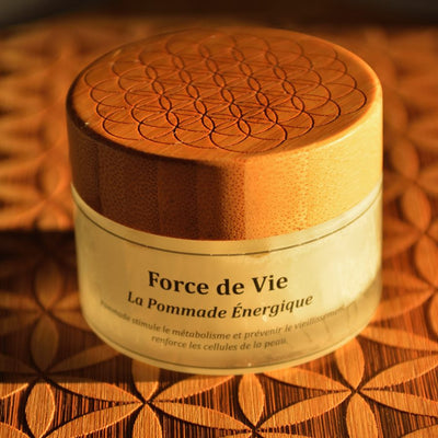 LIFE FORCE - Energetic Pomade with Mineral Crystal Particles and Plasma Water