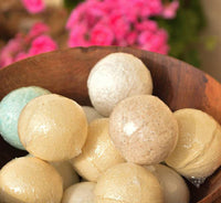 11 Plasma Bath Balls with Calcium, Magnesium, Copper Mineral Crystals and Herbal Plasma Particles