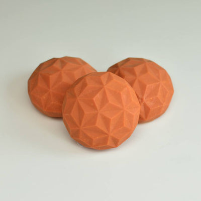 2 pcs Unscented TERRACOTTA Iron Plasma Soap