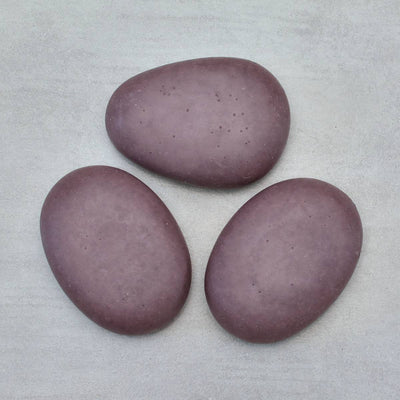 FRENCH LAVENDER Riviera Pebble Soap with Lavender Zinc Set of 3
