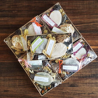 Mediterranean Gift Set with Plasma soaps