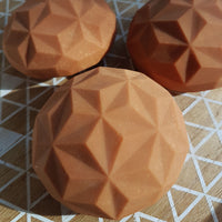 Unscented Hard TERRACOTTA Iron Plasma Soap