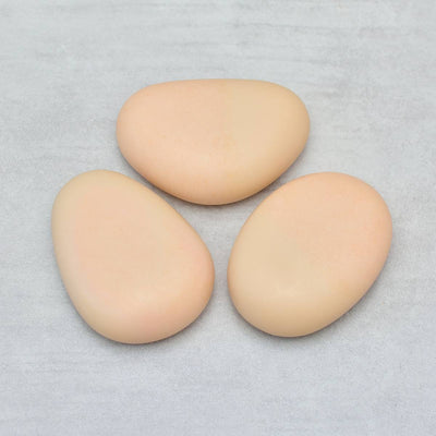 ESTERELLES Riviera Pebble Soap with Silica Zinc Iron Set of 3