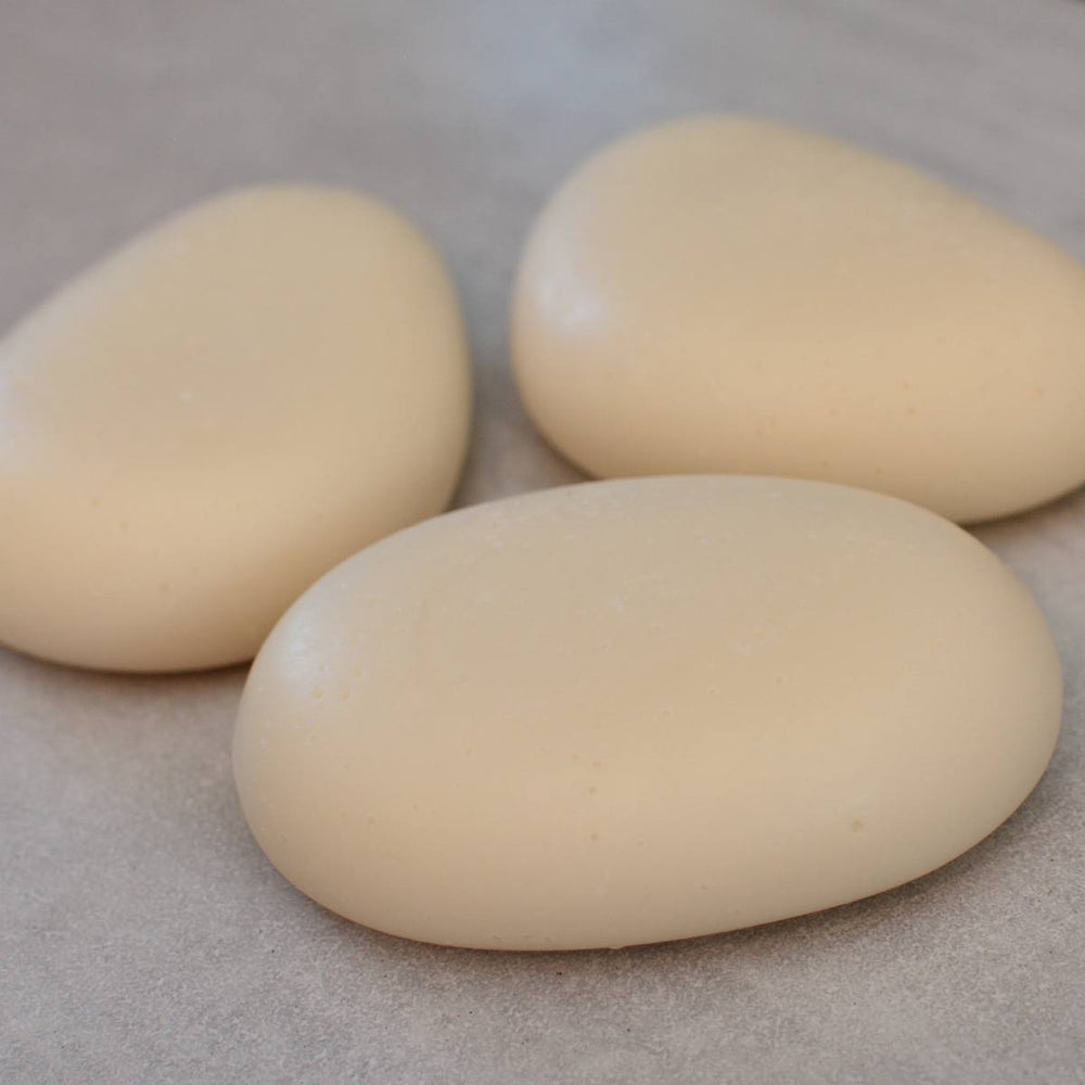 MOONSTONE Riviera Pebble Soap Colloidal Silver Silica Set of 3