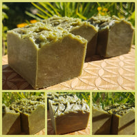GARDEN Rustic Green Soap with Copper