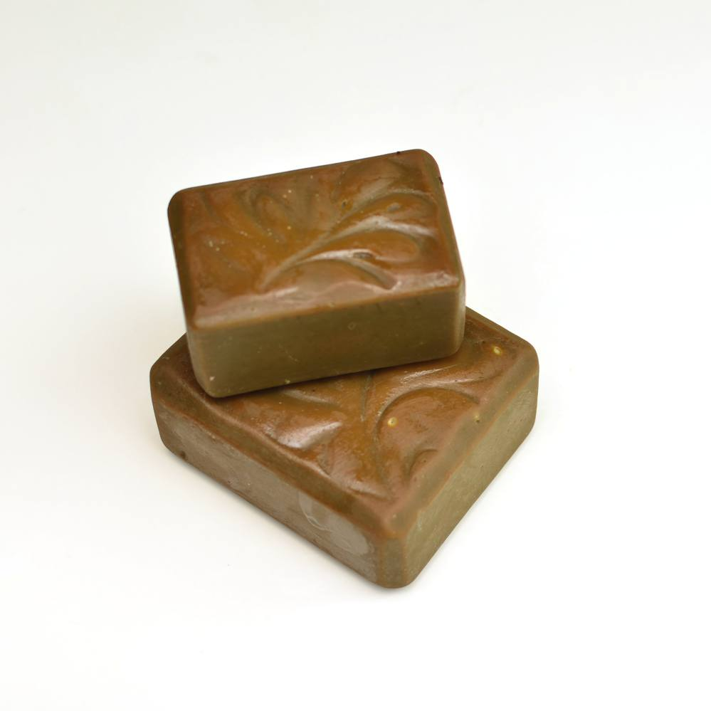 Set of 2 SURVIVAL Soldier Mineral Soap Bar with Copper