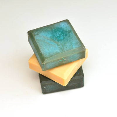 Set of 3 Essential Mineral Soap Squares with Copper and Zinc Plasma