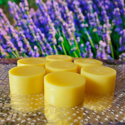 15 pcs Zinc MCPs Solid Body Lotion French Lavender Scent Custom Made on request