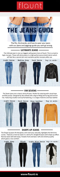 Jeans Styles and Sizing Guide