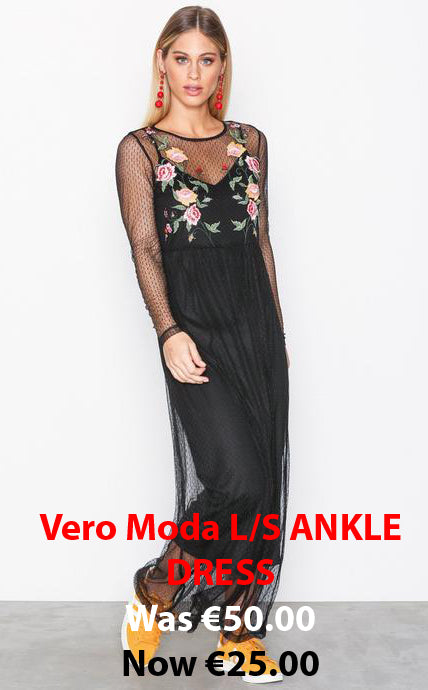Ankle Dress - Black