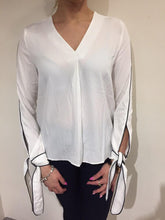 St Maine blouse with trim detail