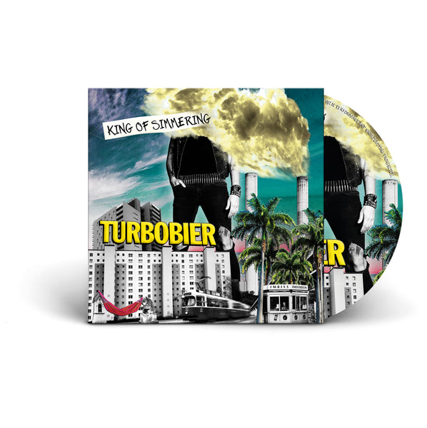 TURBOBIER - 'King of Simmering' CD (2019)