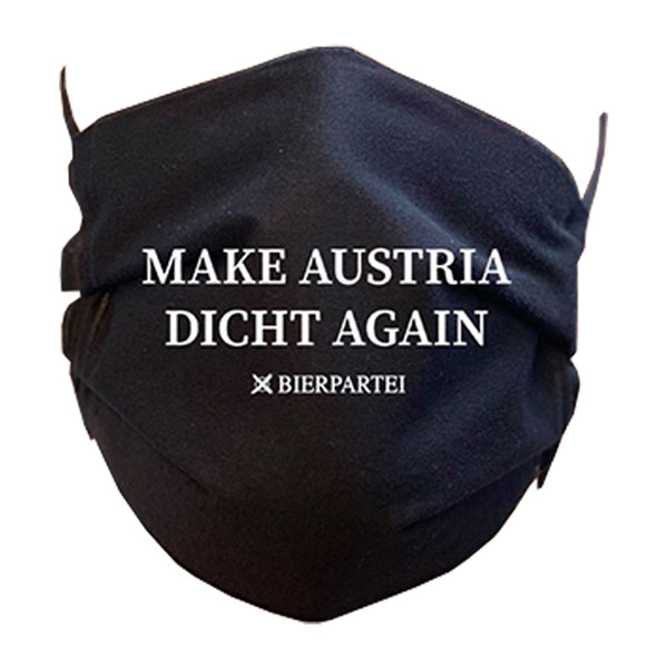 Maske 'Make Austria Dicht Again'