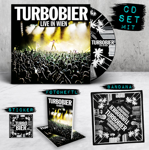 TURBOBIER - 'Live in Wien' CD-Set