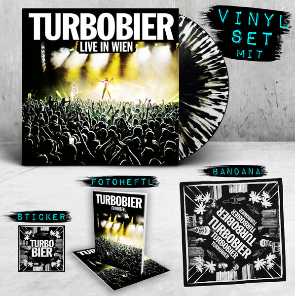 TURBOBIER - 'Live in Wien' Vinyl-Set