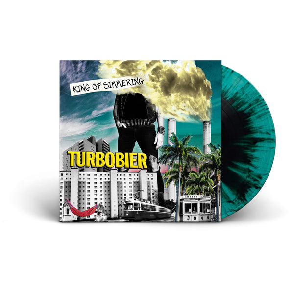 TURBOBIER - 'King of Simmering' Vinyl (2019)