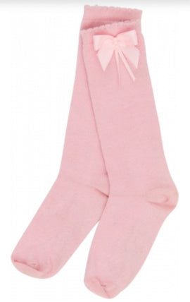Happy Calegi - Pink Knee Socks
