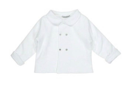 Babidu - Pram Coat in Blue or White