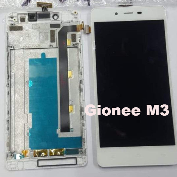 Gionee M3LCD Display Touch Digitizer Assembly Combo With Frame