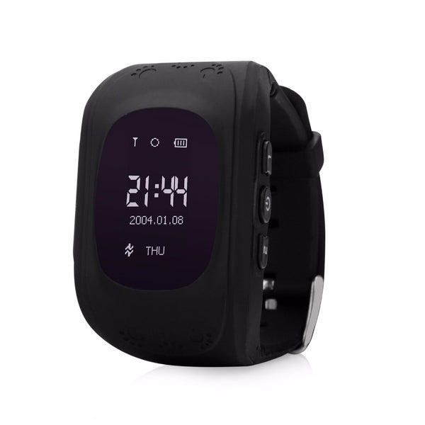 Real-time Kids GPS Tracker Watch With GPS, GSM , SOS Emergency, Anti-Lost & More