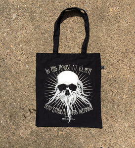 The Call Of Cthulhu screen printed tote bag