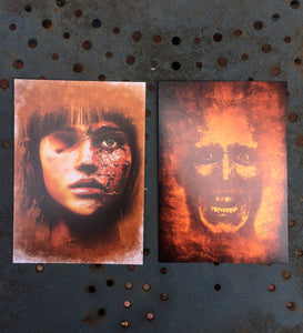 Horror and Alternative Postcards
