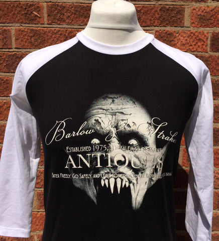 Stephen King Salems Lot inspired Raglan