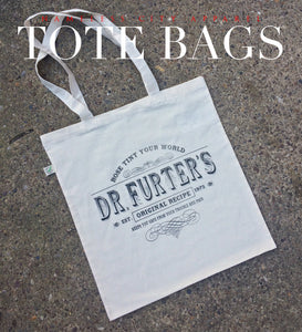 Dr Furter's tote bag inspired by The Rocky Horror Picture Show