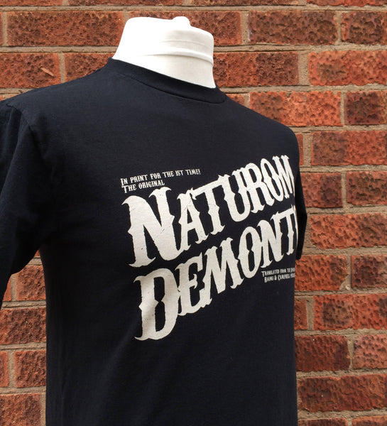Naturom Demonto T Shirt inspired by The Evil Dead