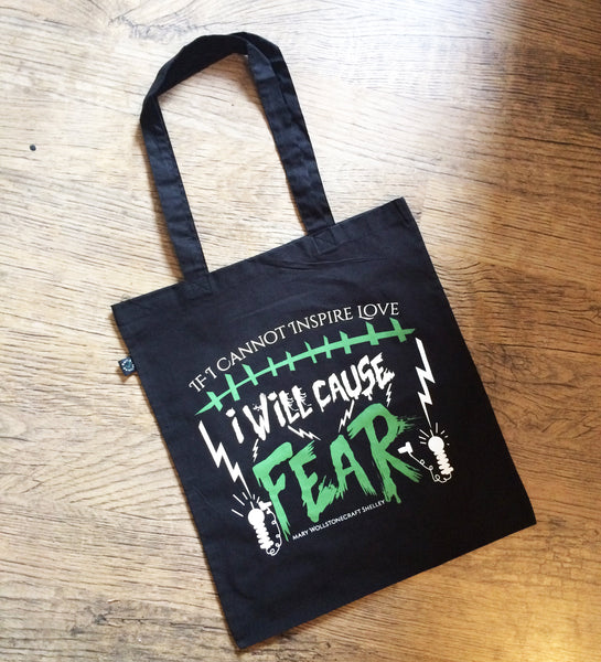 Frankenstein t shirt and tote bag double pack