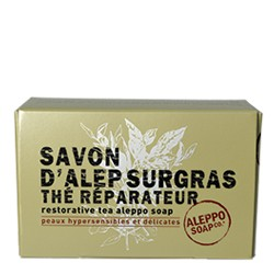 TAD79-ASFORM22-SAVON D'ALEP SURGRAS THE REPARATEUR LAURIER 150 GR