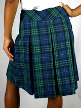 Skirt - Plaid Drop Waist