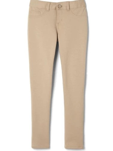 Girls Basic Khaki Pants