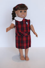 Doll Dress - Plaid