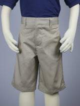 Boys Basic Khaki Shorts