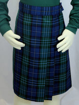 Skort - Plaid - Pleated