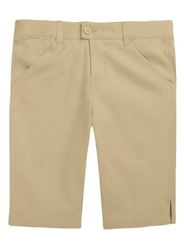 Girls Basic Khaki Shorts