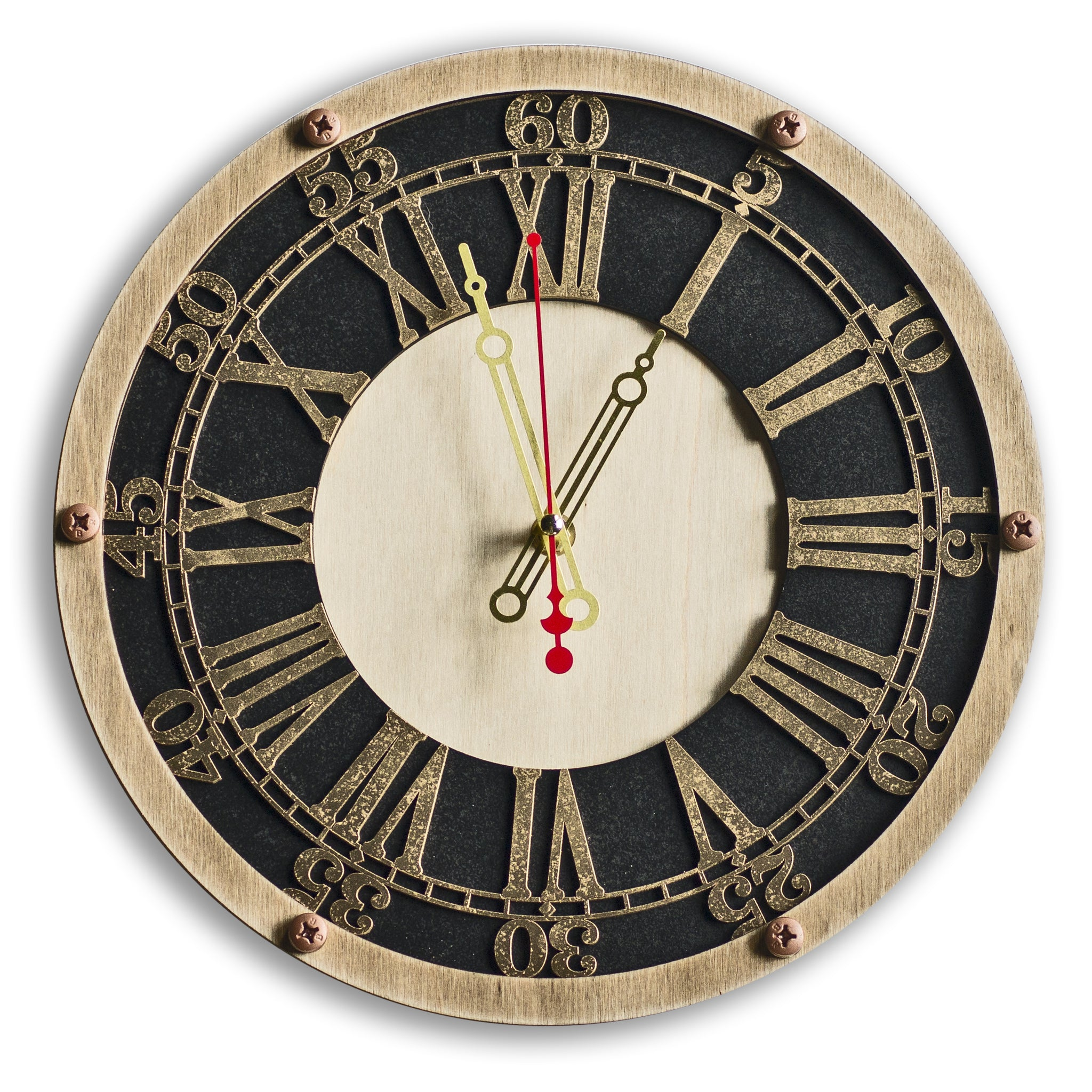 Cambridge Trinity College Wall Clock - WOODANDROOT
