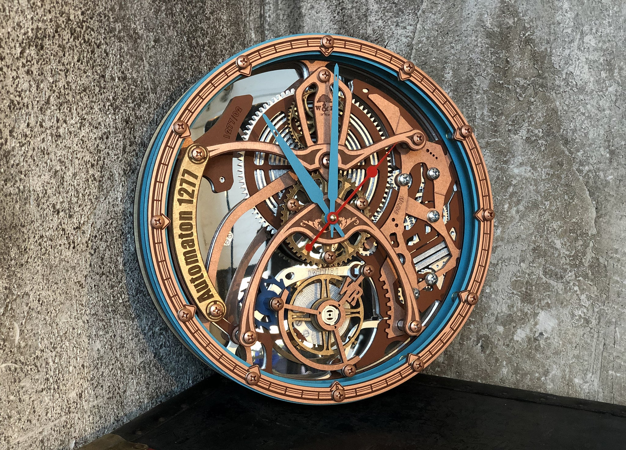Automaton 1277 Tourbillon Wall Clock - WOODANDROOT